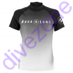 Rash Guard - Rash Guard - Rash Guard - Aqualung RASH GUARD 'Range' Kurzarm (Lady) XL Black White (Grau)